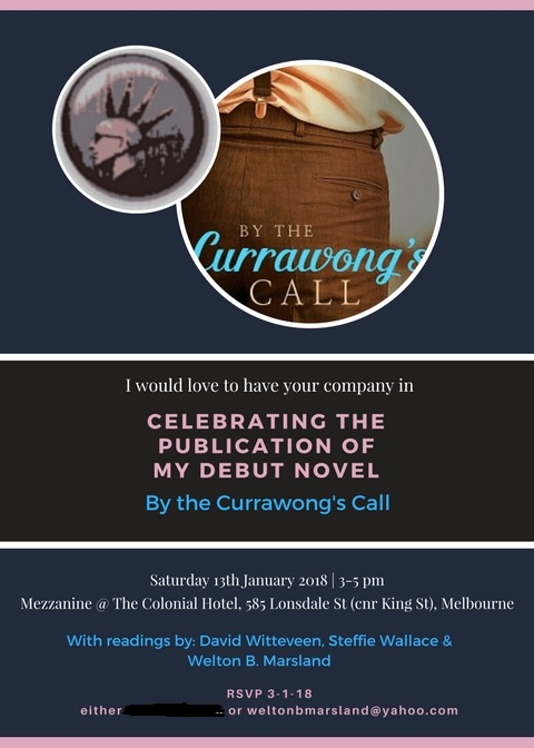 invitation for Currawong party 2